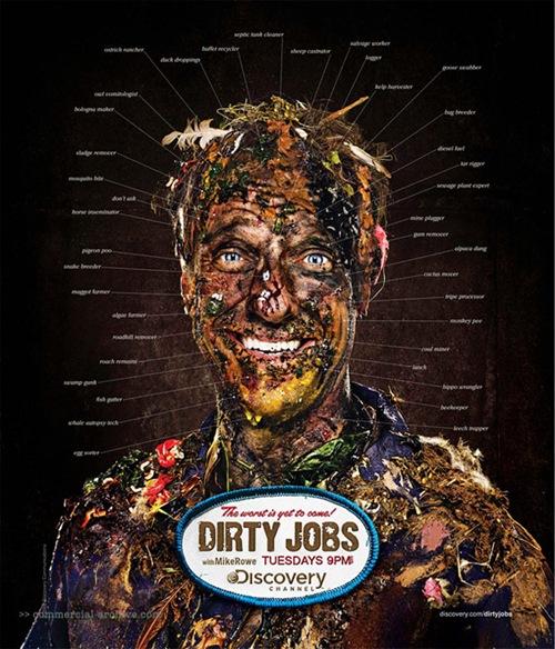Рекламный постер к шоу Dirty Jobs TV Series