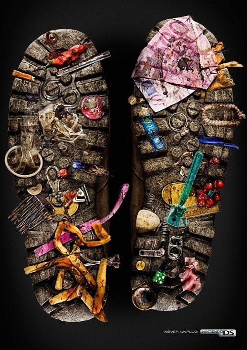 Nintendo DS: Обувь