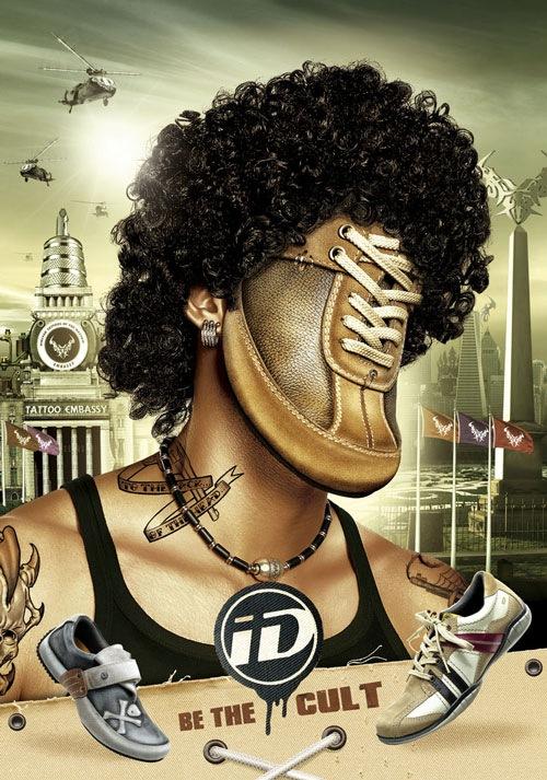 ID Shoes: татуировщик, будь культовым