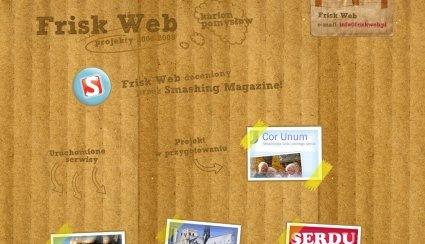 Рисунки на картонном фоне сайта