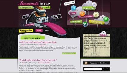 Сайт ReservoirBuzz тоже с иллюстрациями