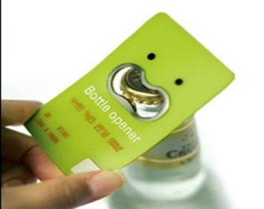 визитка-открывашка
