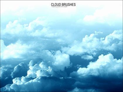 10 кистей-облаков