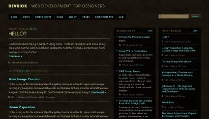 дизайны сайтов в коричневых тонах
