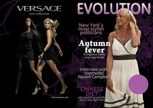 обложка для журнала мод