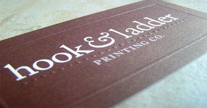 визитка для дома печати