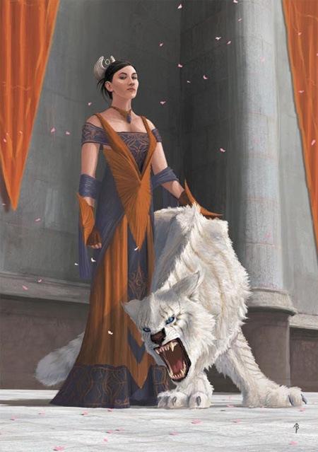 Создайте телохранителя для царицы