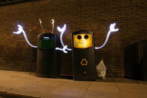 живые мусорные баки