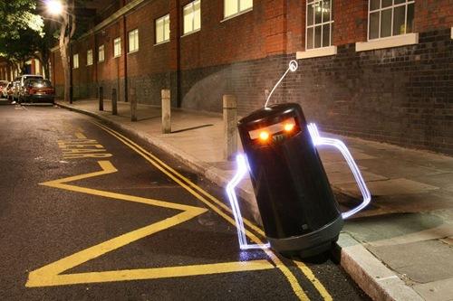 световой робот