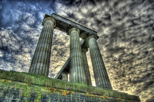 римские колоны в хдр