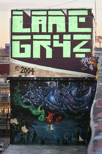 художественное графити