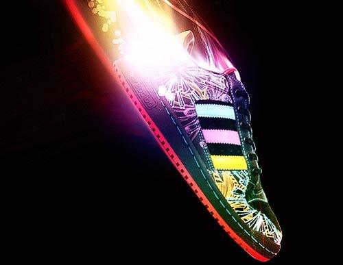 Еще одна креативная реклама Adidas