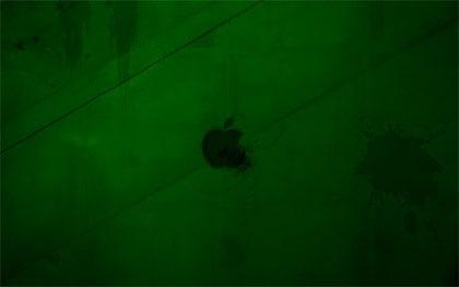 зеленый apple