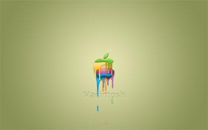 яркие креативные apple обои