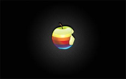 огрызок яблока