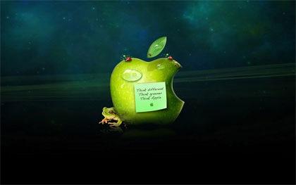 природный дизайн для обоев apple