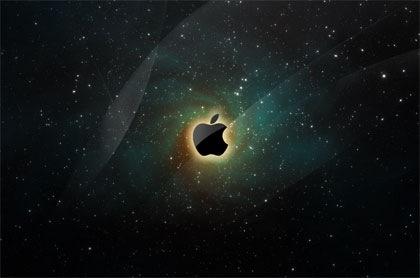 apple заставка на рабочий стол в стиле веб 2.0