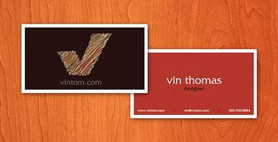 дизайн для визиток