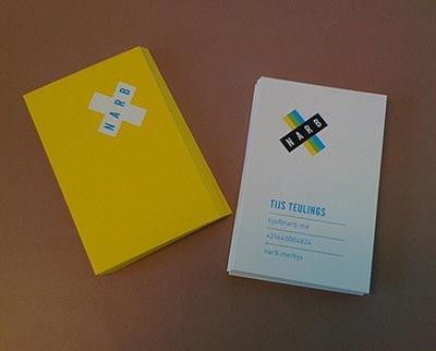 креативный дизайн визитных карточек
