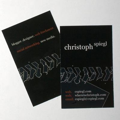 визитки для дизайнеров