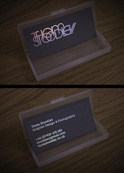 Шрифты для визиток