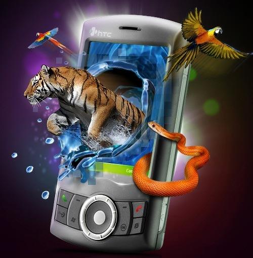 Все цвета в телефоне