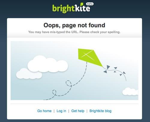 Простая и забавная страница ошибки 404