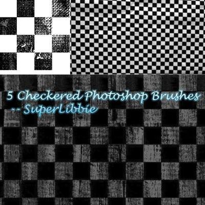 5 шахматных кистей