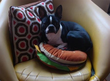 Подушка-гамбургер