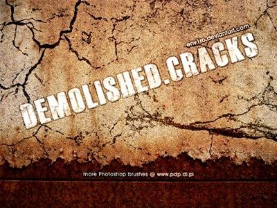 Кисти разрушений и трещин