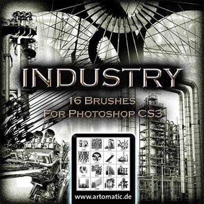 Индустриальные кисти