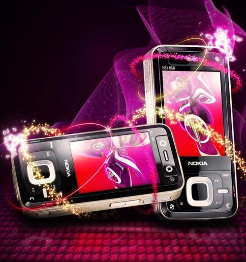 Блеск в постере Nokia N81