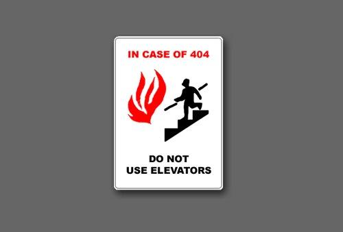 Необычная страница ошибки 404