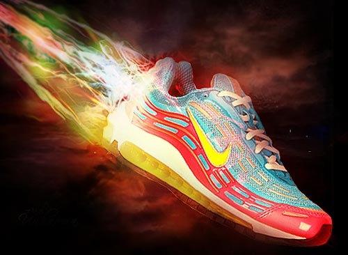 Яркий Nike