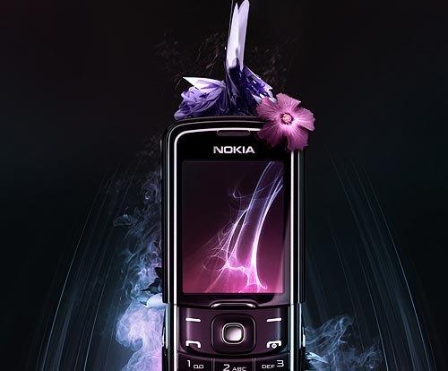 Таинственно обворожительная реклама Nokia 8600 Luna