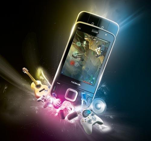 Яркая Nokia N96