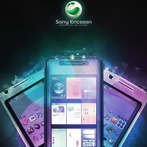 дизайн для Sony Ericsson
