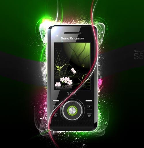 Блеск Sony Ericsson S500i