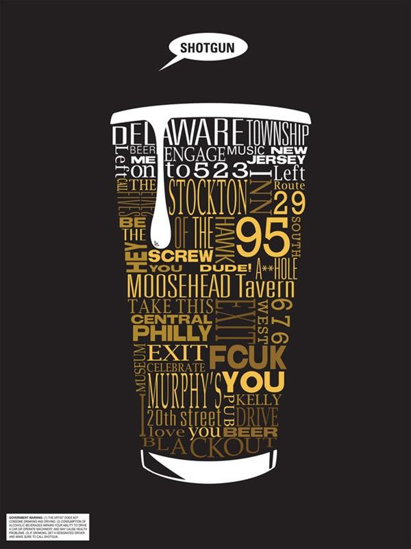 Пиво из типографических шрифтов