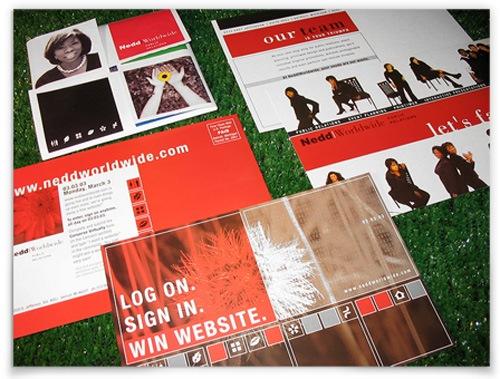 яркие дизайны визитных карточек