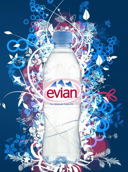 Свежий дизайн Еvian