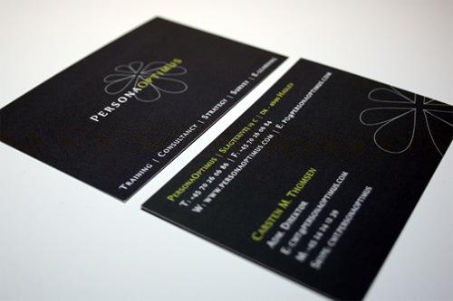 красивые дизайны визиток