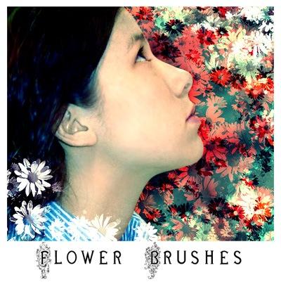 кисти цветы