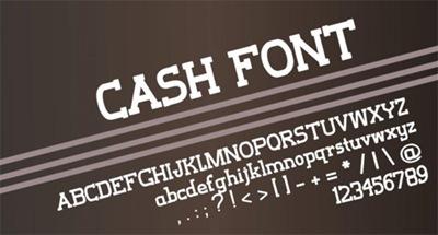 печатный шрифт