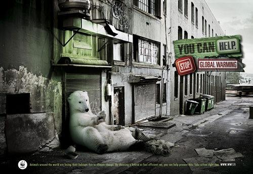 социальная реклама защиты природы