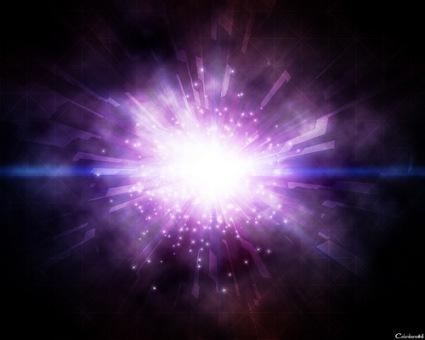 взрыв света
