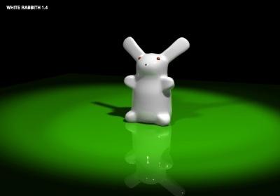 кролик в 3д