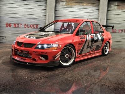 3д гоночный автомобиль