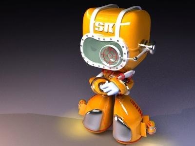 3д робот