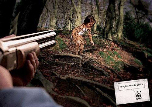реклама фонда защиты животных